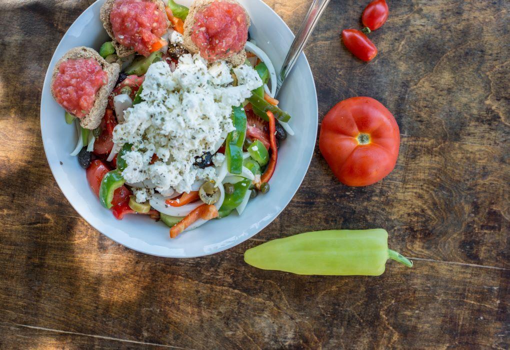 Cretan Traditional Salad