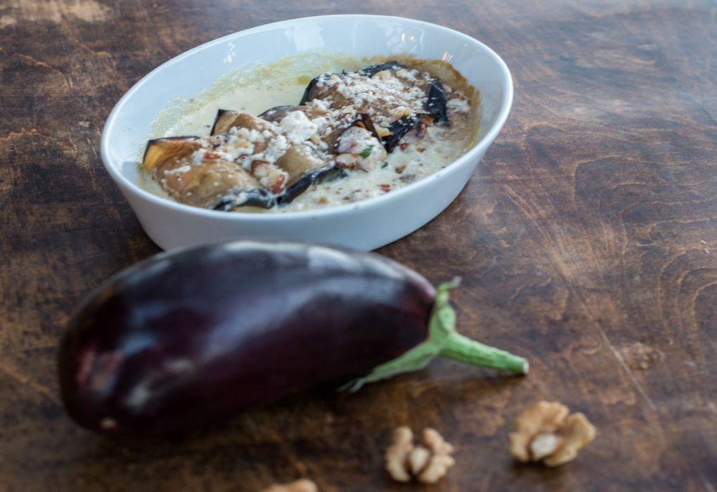 Bourakis Restaurant - Recipe with eggplant