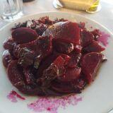 Φαγητό σε ελληνικό παραδοσιακό εστιατόριο στη Μικρή Βίγλα Νάξου